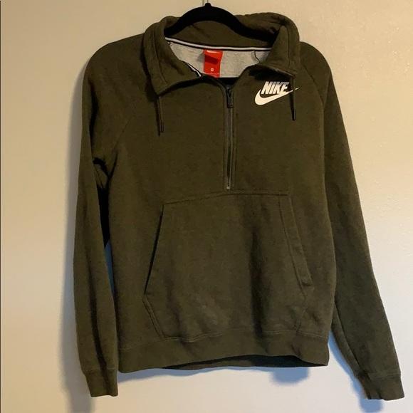 Olive Green Nike jacket